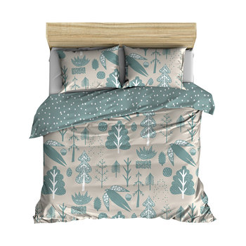 Flying Bird Duvet Set - White
