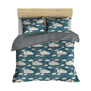 Rainy Day Duvet Set - Blue