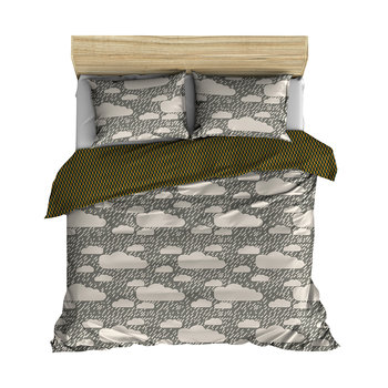 Rainy Day Duvet Cover - Grey