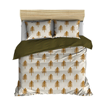 Single Tree Duvet Cover - Cream