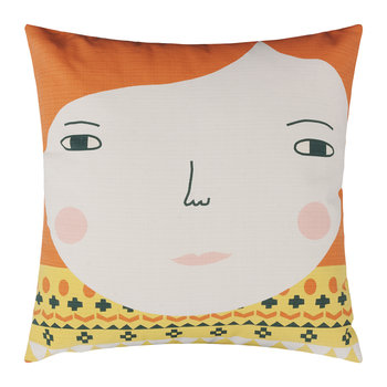 Meg Reversible Pillow - Cream