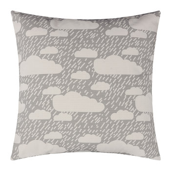 Rainy Day Pillow - Grey