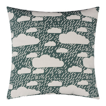 Rainy Day Pillow - Green