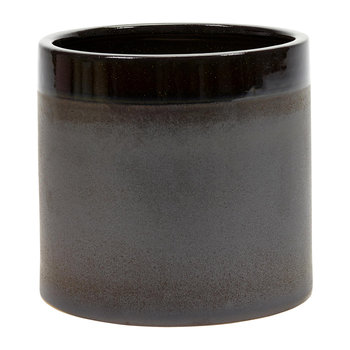 Brown Glazed Pot - Extra Large