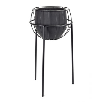 Cage Plant Stand - Black