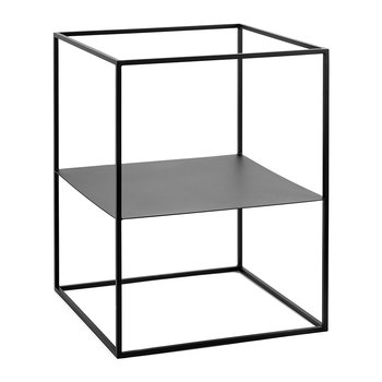 Plant Display Rack - Short - Black