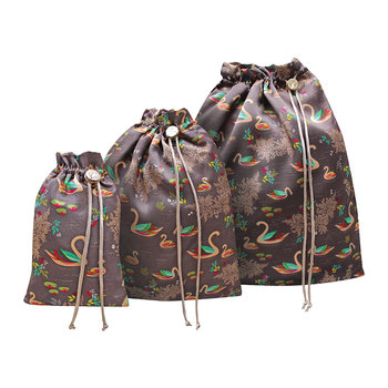 Set of 3 Travel Bags - Swan
