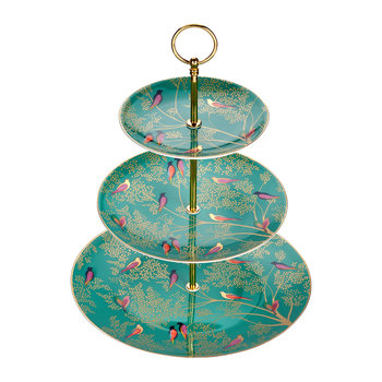 Chelsea Collection 3 Tier Cake Stand - Green