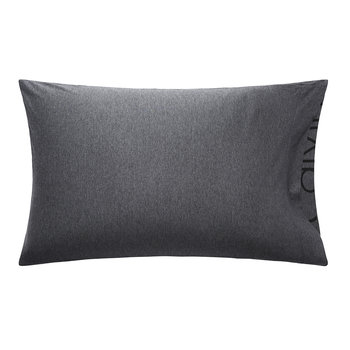 Modern Cotton Body Pillowcase - Charcoal - 50x75cm