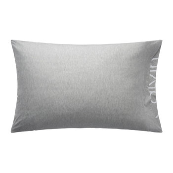 Modern Cotton Body Pillowcase - Grey - 50x75cm