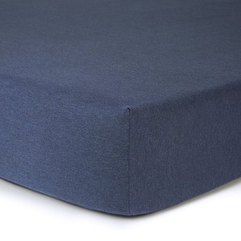Modern Cotton Body Fitted Sheet - Indigo
