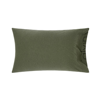 Modern Cotton Body Pillowcase - Moss - 50x75cm