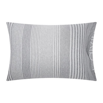 Modern Cotton Rhythm Pillowcase  - Grey - 50x75cm