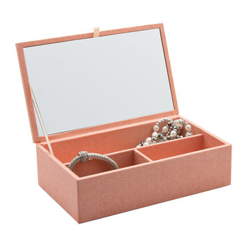 Cardigan Classic Jewellery Box - Pink