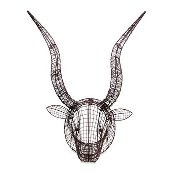 Eco Wire Animal Head - Bull