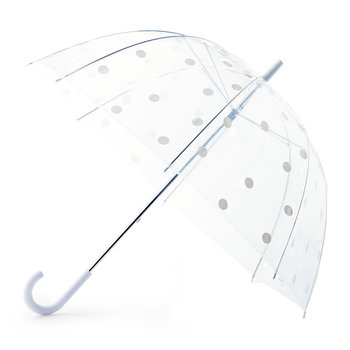 White Dot Umbrella