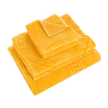 Medusa Classic Bath Towels - Set of 5 - Gold