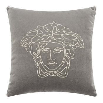 Medusa Studs Pillow - 45x45cm - Gray