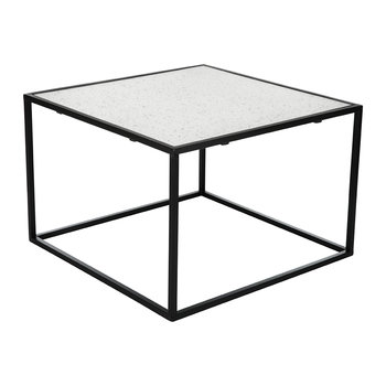 Aged Glass Table - 60x60x40cm