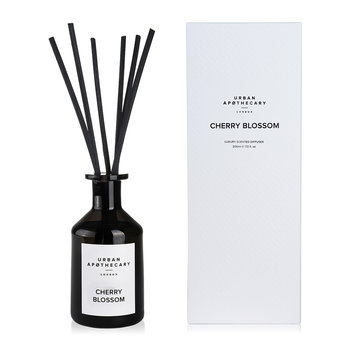 Luxury Reed Diffuser - Black Glass - Cherry Blossom