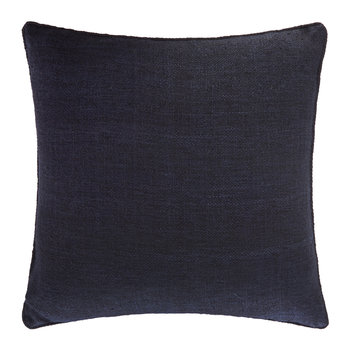 St Mawes Silk Cushion Cover - 50x50cm - Navy