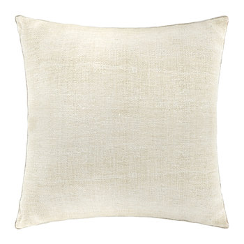 St Mawes Silk Cushion Cover - 50x50cm - Ivory
