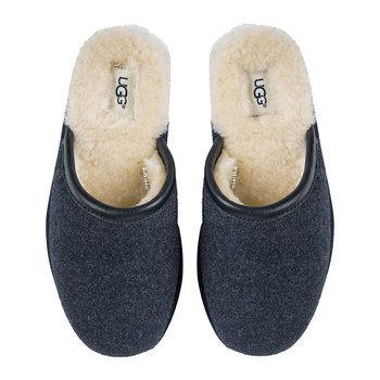 Men's Scuff Novelty Slippers - New Navy