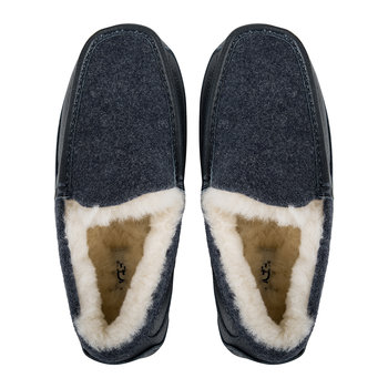 Men's Ascot Novelty Slippers - New Navy