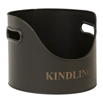 Round Kindling Holder - 21cm - Iron
