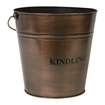 Kindling Bucket - 30cm - Copper