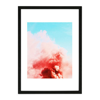 Candy Smoke Framed Print