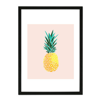 Finapple Framed Print