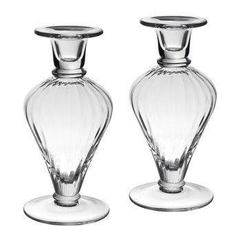 Lydia Crystal Candlesticks - Set of 2