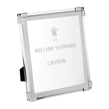 Classic Clear Glass Photo Frame
