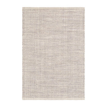 Marled Woven Cotton Rug - Grey
