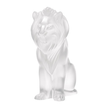 Lions Sculpture - Limited Edition - Clear