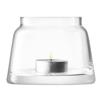 Chimney Tealight Holder - Clear