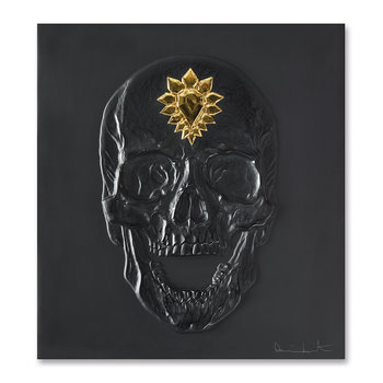 Eternal Memento Panel - Black & Gold