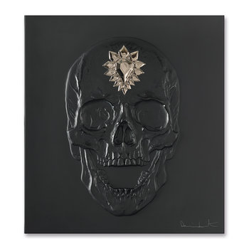 Eternal Memento Panel - Black & Platinum