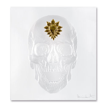 Eternal Memento Panel - Clear & Gold