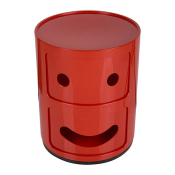 Componibili Smile Storage Unit - Red - :)