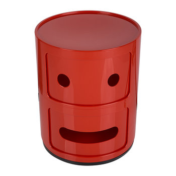Componibili Smile Storage Unit - Red - :|
