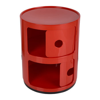 Componibili Smile Storage Unit - Red - ;)