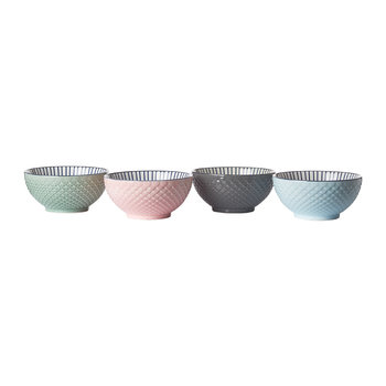 Color Scales Bowl - Set of 4