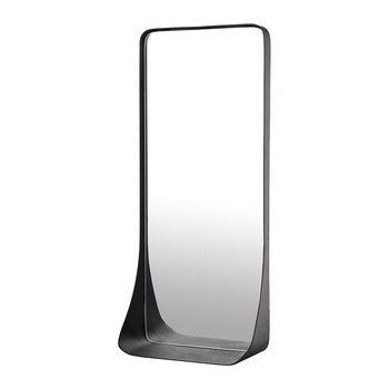 Edge Mirror with Shelf