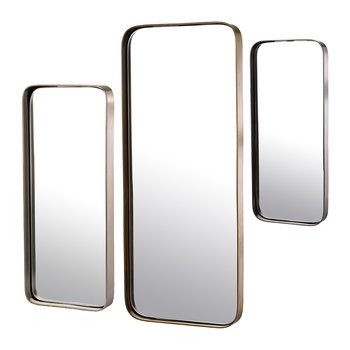 Miroirs à Bordure - Lot de 3 - Rectangulaire