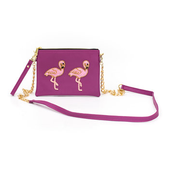 Holbox Flamingo Shoulder Bag - Small - Pink