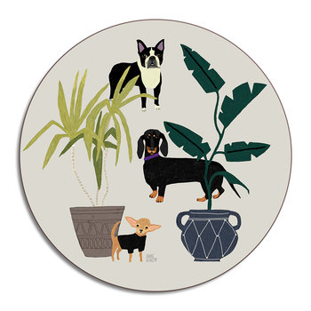 Anne Bentley Placemat - Dogs