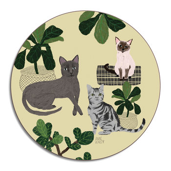 Anne Bentley Placemat - Cats