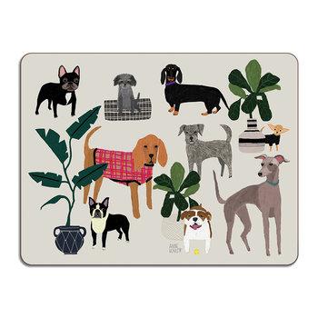 Anne Bentley Table Mat - Dogs